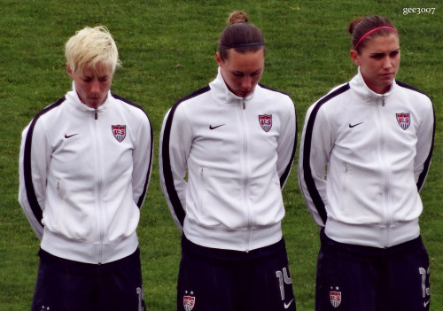 Moment of seriousness. (USA v China 8/3/13)
