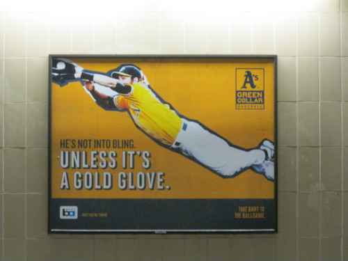 newdesultorybaseball:  24th Street/Mission Street BART (Bay Area Rapid Transit) station, San Francisco, May 2013.