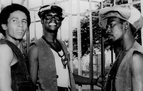 The Wailers!! Bob Marley Bunny Wailer and Peter Tosh