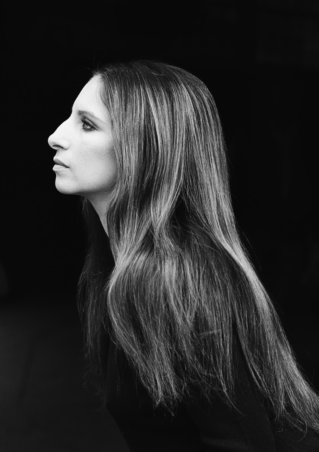 "Photograph by Steve Schapiro  Happy birthday, Barbra Streisand.  ""Barbra Streisand has an amazing sense of what is right for her career. One of the secrets of her success is to demand her own way and she is almost always right in her choices and taste.""  Photographer Steve Schapiro on Streisand."