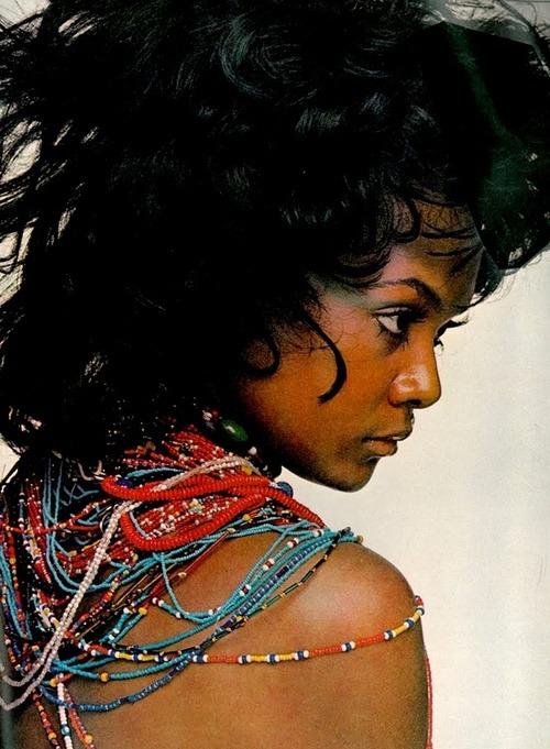 marahoffman:  Tamara Dobson photographed by Gianni Penati for Vogue, 1970