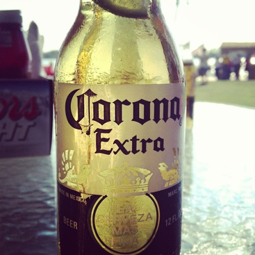 Corona on the river (at Shores Waterfront Restaurant)
