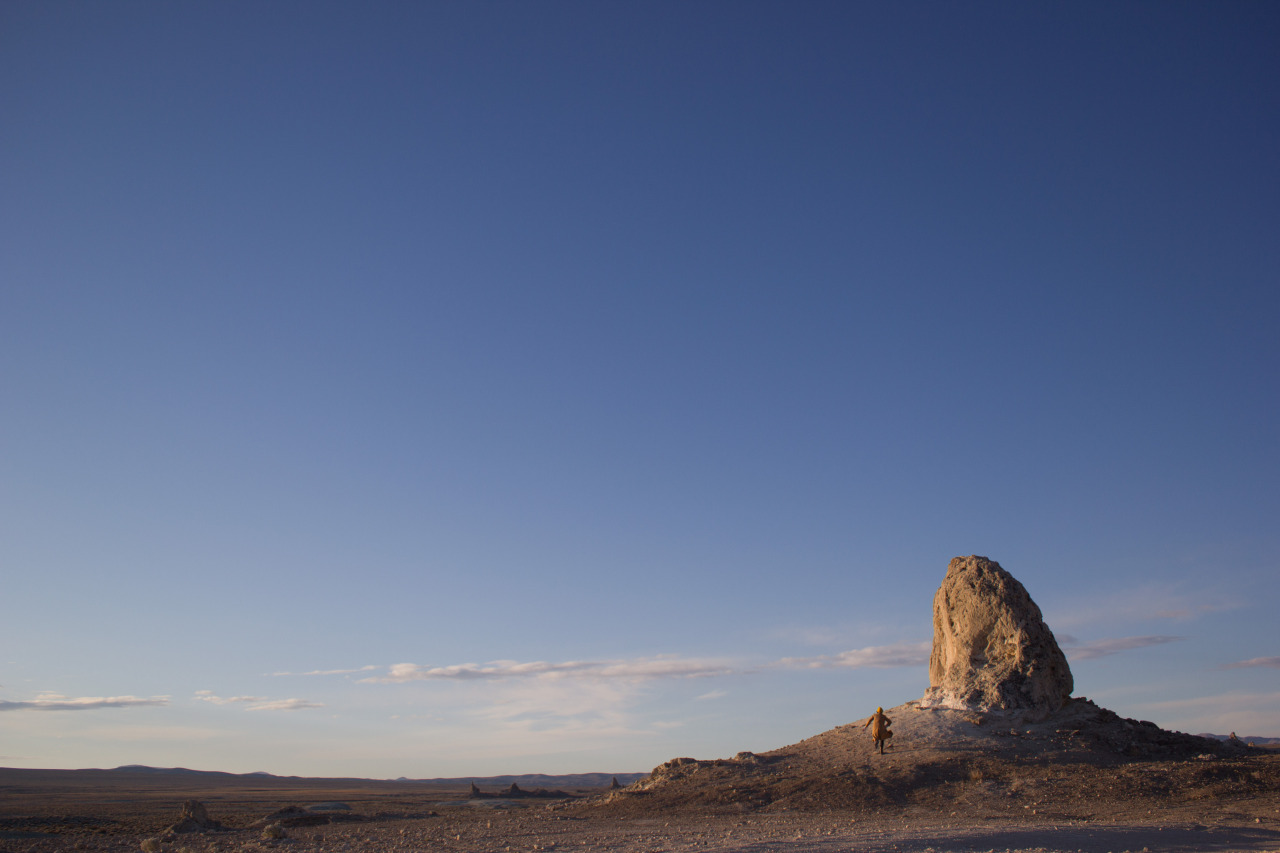 self-portrait - trona pinnacles trona, ca february 2013