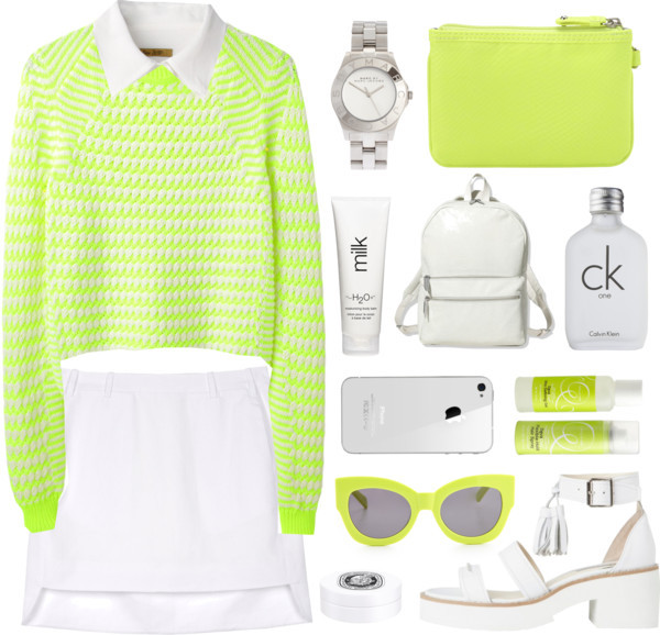 Neon by child-of-the-tropics featuring calvin klein
