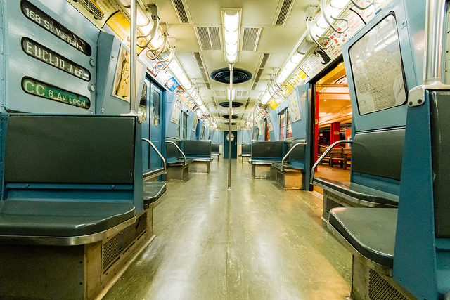 Vintage Subway at the New York Transit Museum on Flickr.