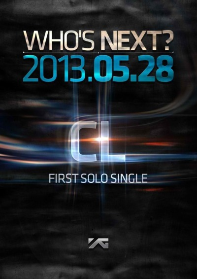 "ygfamilyy:  YG Life Update (130514): ""WHO'S NEXT? - CL!"""