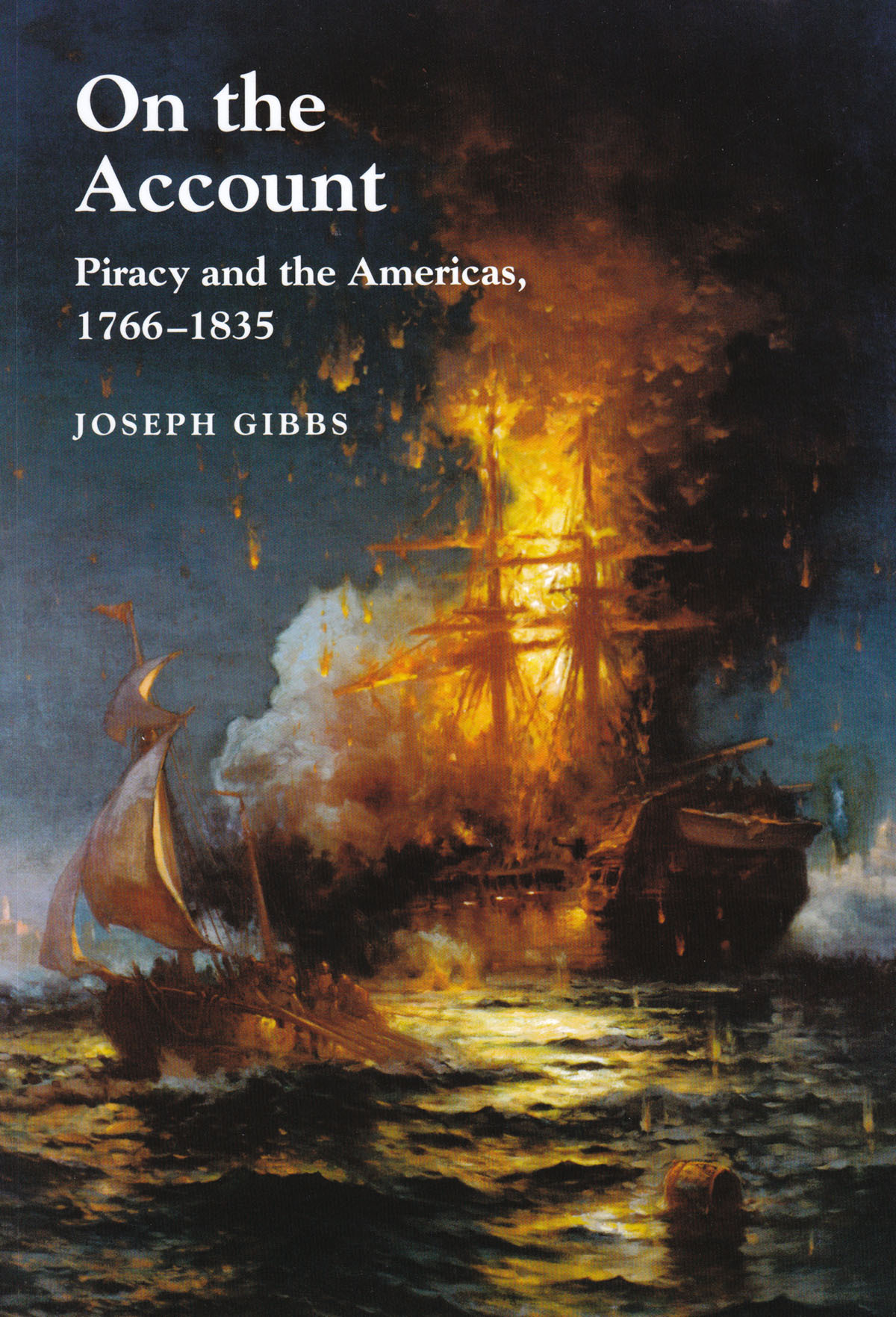 "BOOK REVIEW – On the Account: Piracy and the Americas, 1766 – 1835 By Joseph Gibbs, Sussex Academic Press Portland, OR (2012). Reviewed by J.J. Ahern As Joseph Gibbs notes in his introduction to On the Account: Piracy and the Americas, 1766 – 1835, ""Piracy in the Age of Sail continues to fascinate modern audiences (ix)."" The image of swashbuckling buccaneers readily captivates the imagination of all ages; whether that be in the form of Jim Hawkins and Long John Silver in Robert Louis Stevenson's Treasure Island, or one of Walt Disney's many current franchises that flies the black flag (from Jake and the Never Land Pirates to Jack Sparrow and the Pirates of the Caribbean). Though in all of these forms piracy invokes the image of the Golden Age during the early eighteenth century when names like Blackbeard, ""Black Sam"" Bellamy, and Bartholomew Roberts instilled fear in the maritime community. In On the Account, Gibbs seeks to recount the age of piracy of the late eighteenth and early nineteenth centuries when the young United States was forced to deal with consequences of crime on the high seas from the late Colonial era through to the Early Republic. (read the full review)"
