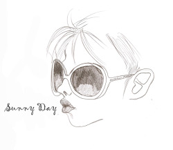 Oh , what sunny day! Illustration by Ilaria Vallone