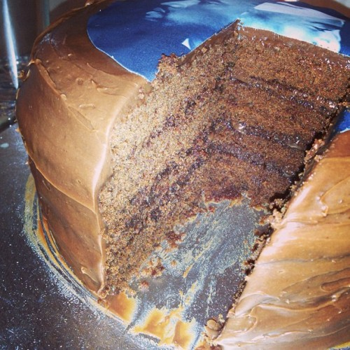 4 layer moist #Chocolate #Ganache Cake…🍫🍫🍫🍰😍.   For orders please call 07966406400 or email info@acupfull.co.uk  All prices and sizes on the website www.acupfull.co.uk   #cake #baking #yum #yummy #ACupFull #food #Foodporn #instafood #sweet #handmade #homemade #creative #iwant #instadaily #instagood #love #photooftheday #follow #wow #amazing #dessert #birthday #birthdaycake #beautiful #igers