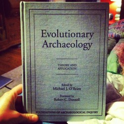 blaurenlew:  Morning read. #anthropology #archaeology