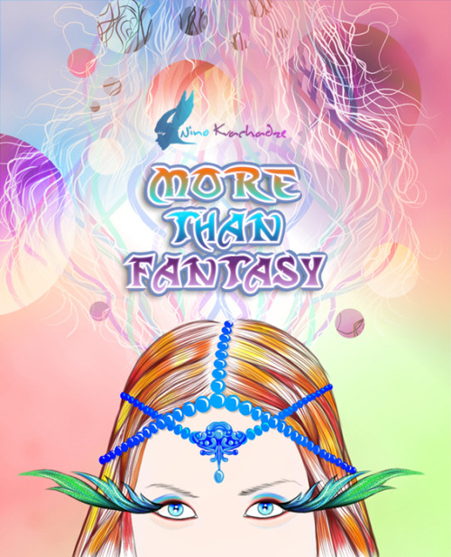 """More Than Fantasy"" by Nino Kvachadze New Years Party Poster — in Almaty, Almaty City."