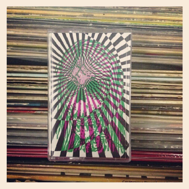 Photo of our tape snagged from @burgerrecords4life ! Out now on Burger!