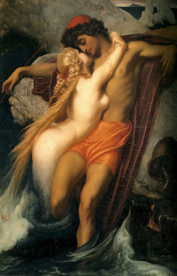 fcknn:  The Fisherman and the Syren, c.1856-1858