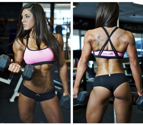 swolebitchswagg:  dancewithmydemons:  Brittany Bishop  Good god