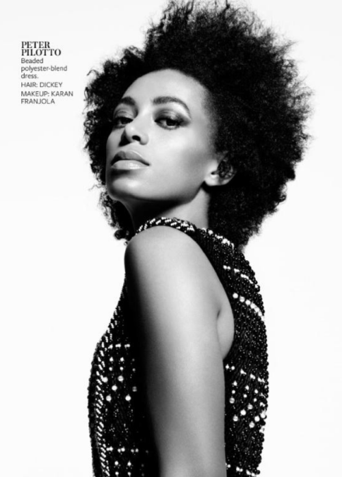 putting-the-eye-in-fashion:  Solange Knowles in the June 2013 issue of InStyle