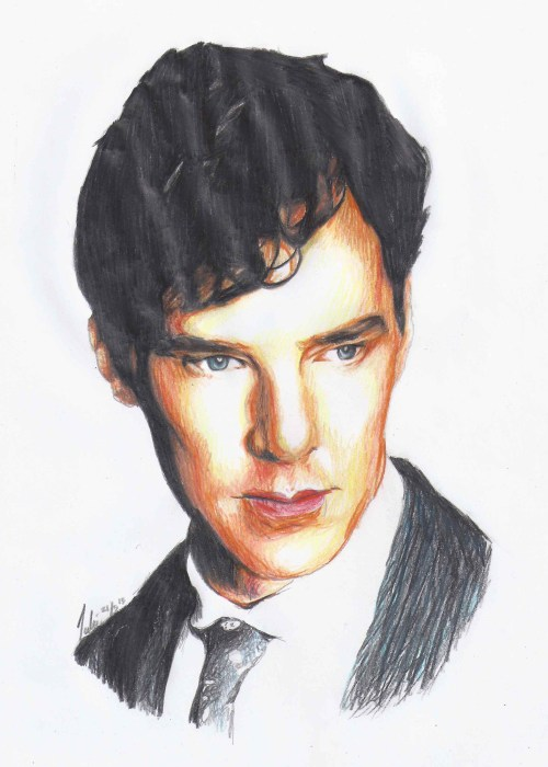 benedict-cumberlicious:  Moviestar Magazine Photoshoot (Cumberbatch)                                               (Coloured pencils - 2 hours)