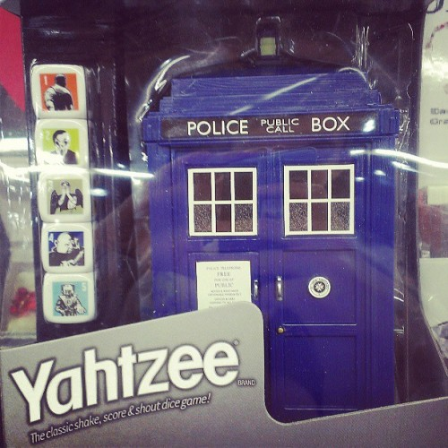 So, this exists… #coolestyahtzeeever #doctorwho