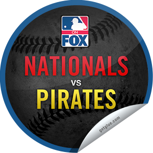 I just unlocked the MLB on FOX 2013: Nationals @ Pirates sticker on GetGlue                      531 others have also unlocked the MLB on FOX 2013: Nationals @ Pirates sticker on GetGlue.com                  Take me out to the ball game! Or just watch it on TV! You're now watching the Nationals take on the Pirates. May the best team win! Share this one proudly. It's from our friends at FOX Sports.