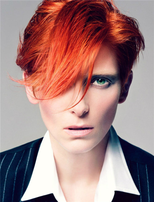 "Fashion Muse: I first came to know Tilda Swinton through the art house film ""Orlando"". Since then, I have been enchanted by her. I wish I could check out her performance art installation of ""The Maybe"" at MoMA in New York."
