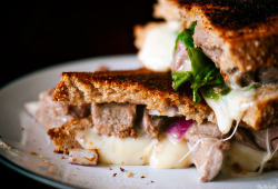 Lamb Grilled Cheese recipe from Pass the Sushi