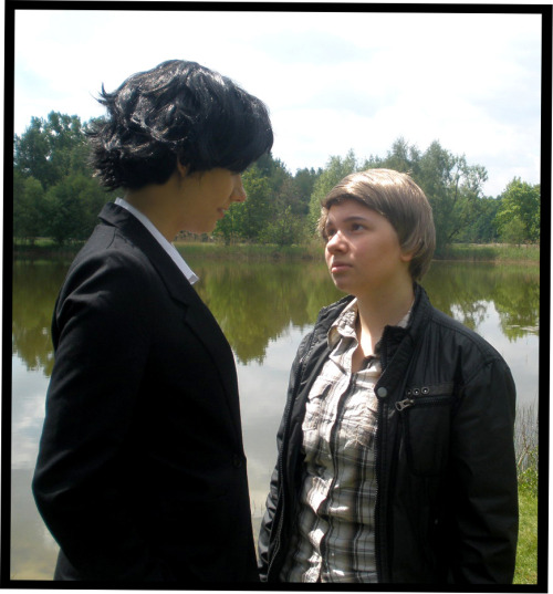 Since today we have for about a year Sherlock cosplay!<3 And here are a few photos from the last year: PART 2 ———————————————————— Sherlock Holmes - by Tammi-yo *smooch* John Watson - by me Pics - of many different friends. <3 But most of us with self timer. Illus - by me ———————————————————— It was wonderful, fun, exciting, and we have met many new people. *BigLoveForAll* Thank you so much~ <3  (And Sorry for my bad english >//<)