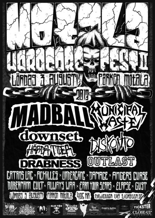 I am actually considering going to Motala Hardcore Festival.  A mosh pit would make me some good.