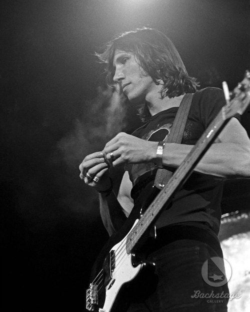 You take the risk of being rejected. Roger Waters