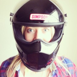 Biker Chick #motorcycle #simpson #biker #chick #myhotasiangirlfriend  (at Lucky $0.99)