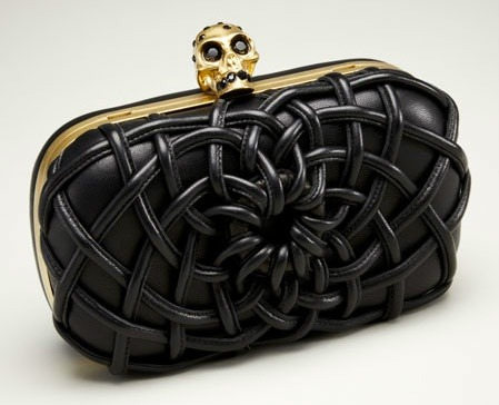 creativeandcurious:  McQueen corset clutch…NEED!