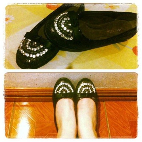 New shoes from Mommy. ☺ 👠 #shoes #fashion #beauty #aerosoles