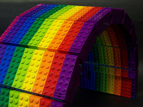 I'm Just A Rainbow in the Dark Created by Matt Armstrong / monsterbrick