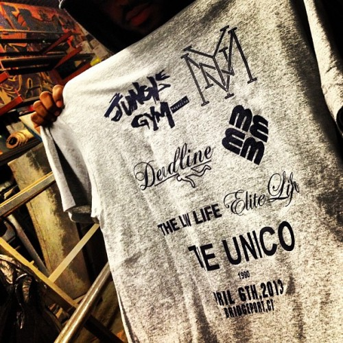 Limited ASAP Ant tee collaboration 2013 friends and family by @theunico1990