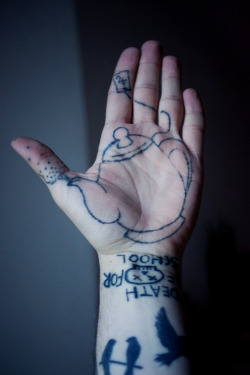my lovely handtattoo <3 by a very good friend