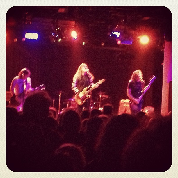 Fucking Redd Kross dudes! Thanks @mergerecords (at Santos Party House)