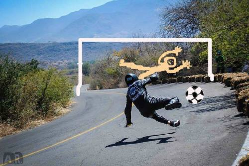 (via Facebook) dont be jealous of my soccer skills