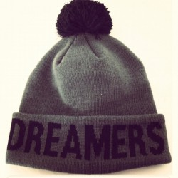 Dreamers Club | Matt grey limited edition pom #beanie also drops Next week |
