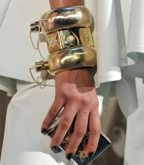 Functional Fashion of the Day  Flask Bangle by Cynthia Rowley is just the thing to soothe those Red Carpet nerves.