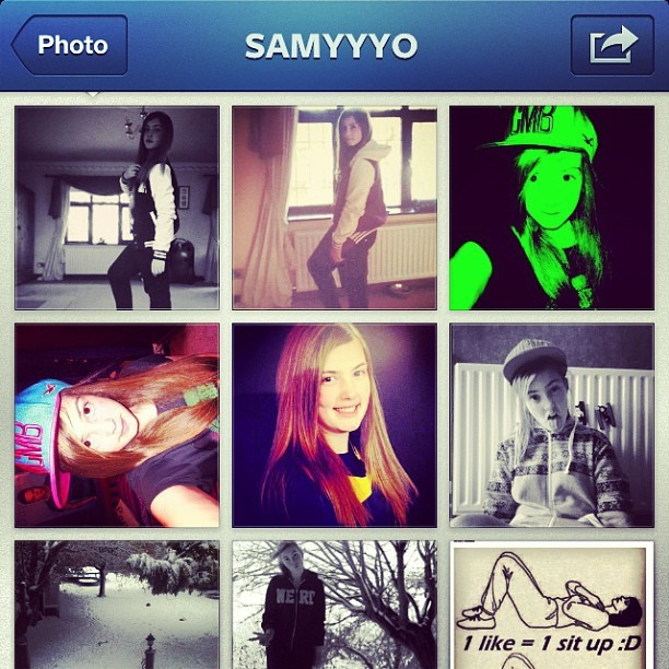 Follow her @samyyyo