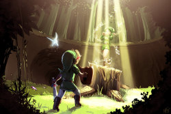 triforceof-power:  Saria's song by *MPdigitalART