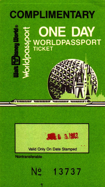 Comp 1 Day Ticket 1983 by UFG8R on Flickr.
