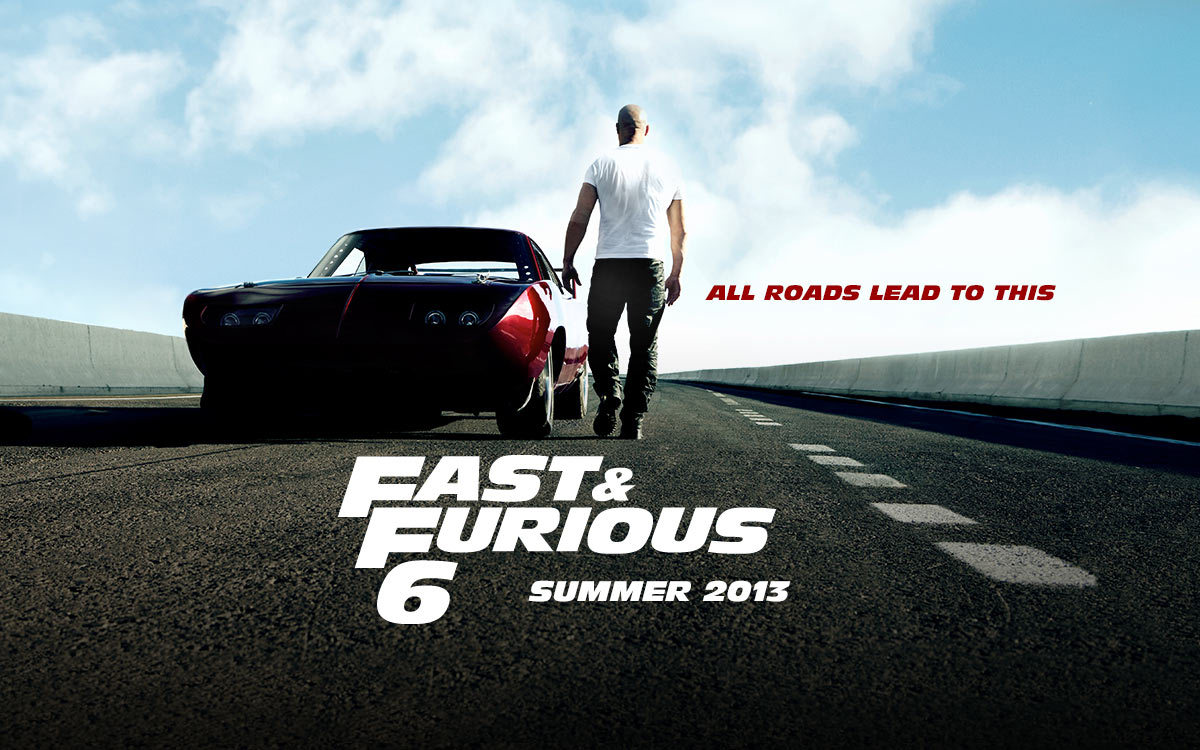 No Spoilers Fast & Furious 6 (2013)  Agent Luke Hobbs enlists Dominic Toretto and his team to bring down former Special Ops soldier Owen Shaw, leader of a unit specializing in vehicular warfare.  Worse than other Fast and Furious sequels. REALLY REALLY bad.  The acting is debatable but Gina Carano makes the rest of the cast look like Oscar material. She just cannot act. Fast the Furious 1 was the best and should have been left alone. P.S. Ludacris had the best lines.