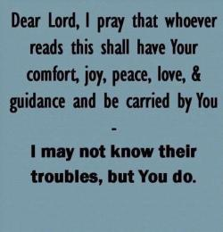 joecatholic:  Pray it and pass it on! :)