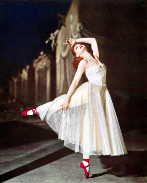 bohemea:  Moira Shearer in The Red Shoes