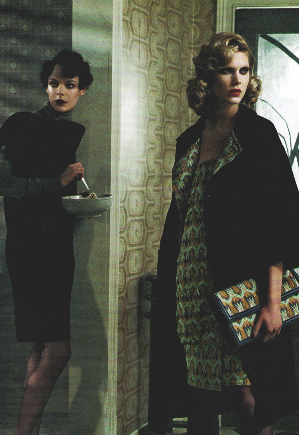 Kinga Rajzak & Iselin Steiro/Missoni Fall Winter 2008