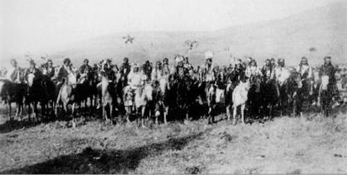 The Nez Percé War A certain Pacific Northwest tribe of Shahaptin stock was dubbed the Nez Percé by French-Canadian trappers, probably because some of the natives sported nose ornaments. The Lewis and Clark Corps of Discovery encountered them in 1805. The Nez Percé then comprised some 6,000 people. A famous 1877 fighting retreat led by Chief Joseph¹ (b. 1840), Chief White Bird, and others turned out to be the final and most extended Indian war in the region.