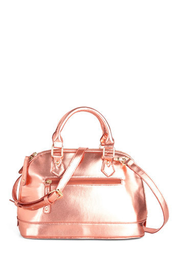 Get everyone talking with a radiant bag like our Extemporaneous Peach Bag!