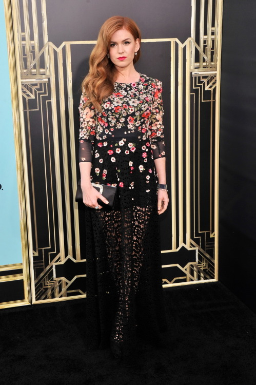 gasstation:  Isla Fisher at the world premiere of The Great Gatsby, May 1st