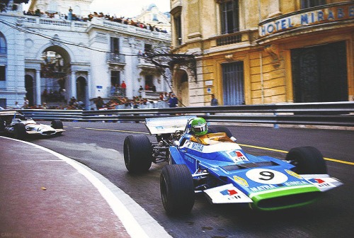 cami-racing:  Henri Pescarolo. Matra MS120. Monaco Grand Prix -1970.