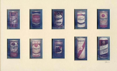 Evolution of the 'Gansett can from 1930's to 2005. Now that's a Hi Neighbor!