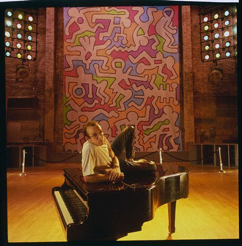upnorthtrips:  Keith Haring would've turned 55 today. Happy Birthday